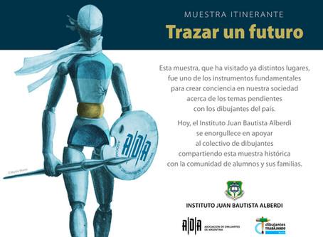 """Muestra Itinerante """"Trazar un futuro"""" - Travelling Art Show """"Drawing a future"""""""