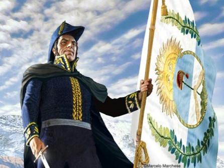 """17 de Agosto """"Fallecimiento del Gral. José de San Martín"""""""
