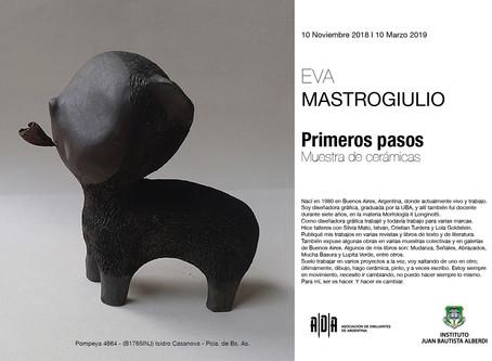 "Muestra ""Primeros Pasos"" de Eva Mastrogiulio - Art Show ""First steps"" of Eva Mastrogiulio"