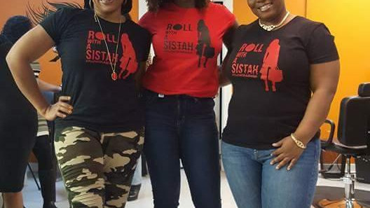Roll With A Sistah T-Shirt