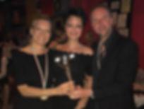 Vincitori primo campionato metropolitano di tango argentino in vento