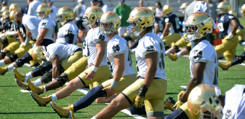 Notre Dame Releases Spring Schedule