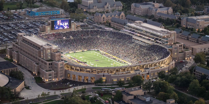 ND Football Single-Game Tickets  on Sale August 19