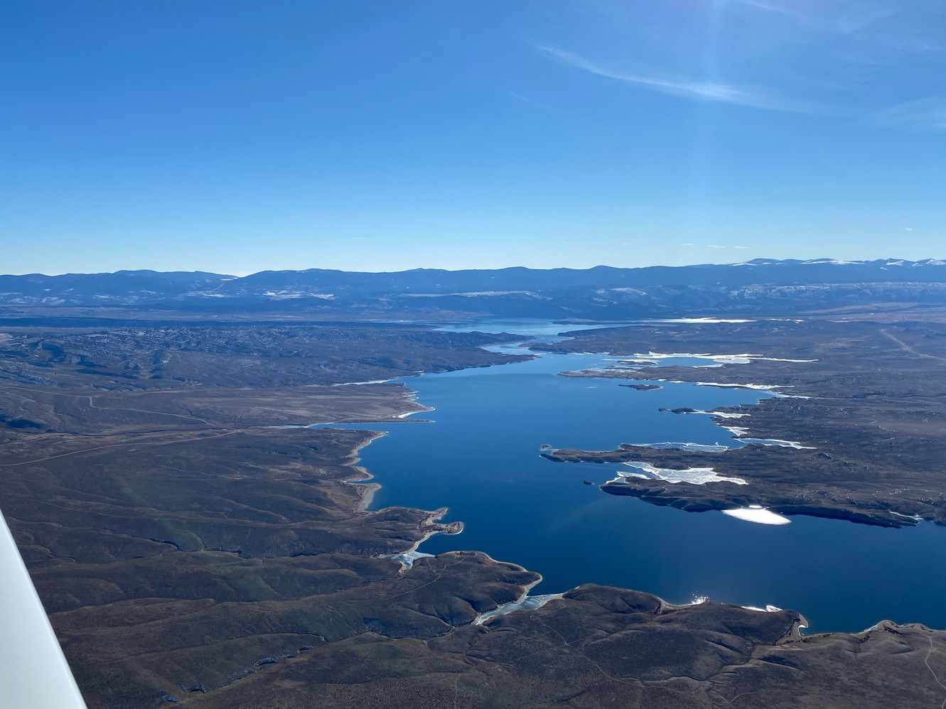 Flaming Gorge from N4294T