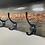 Thumbnail: Wood and epoxy coat rack
