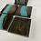 Thumbnail: Epoxy river coasters. Glacier and ebony
