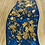 Thumbnail: Epoxy river coasters. Cobalt with gold flake and golden oak stain