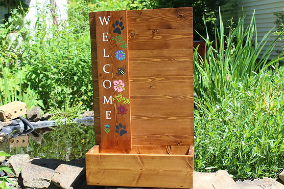 Welcome Planter Box