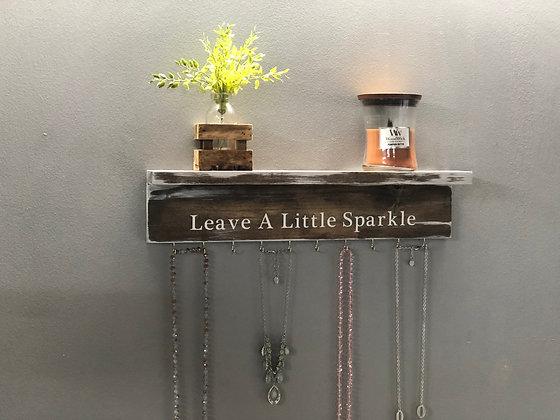 Jewelry Hanger with Shelf