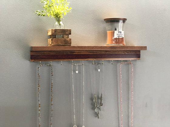 Epoxy Jewelry Hanger with Shelf