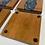 Thumbnail: Cherry hardwood and epoxy river coasters set of 4