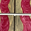 Thumbnail: Epoxy river coasters. Amethyst and gray