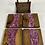 Thumbnail: Epoxy river coasters. Lavender and espresso