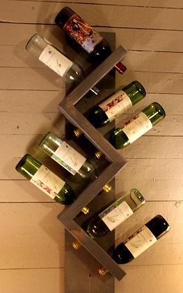 Zig Zag Wine Rack