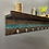 Thumbnail: Wood and epoxy coat rack