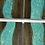 Thumbnail: Epoxy river coasters. Glacier blue with a silver flake and ebony