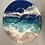 Thumbnail: Ocean epoxy resin wall clock