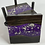 Thumbnail: Epoxy river coasters. Violet with silver flake and ebony stain