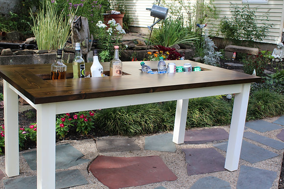 Farmhouse Party Table