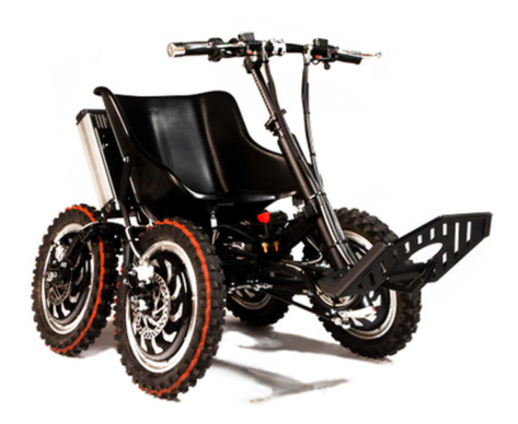 All-terrain wheelchair