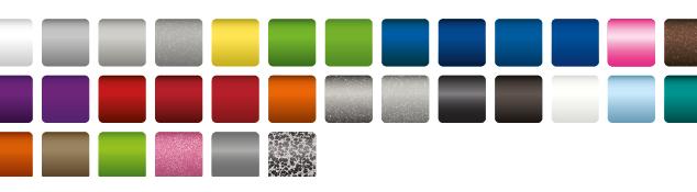 Die Rahmen-Farben des Xenon2
