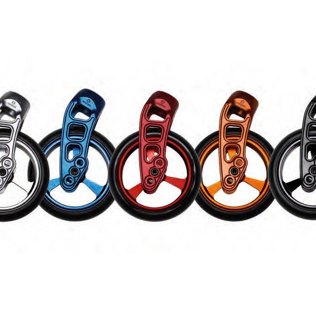 Farben der Lenkräder/Gabeln des Xenon2