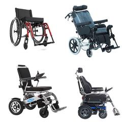 Sämtliche Rollstuhl-Kategorien