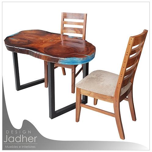 Mesa para Comedor o Escritorio con Resina