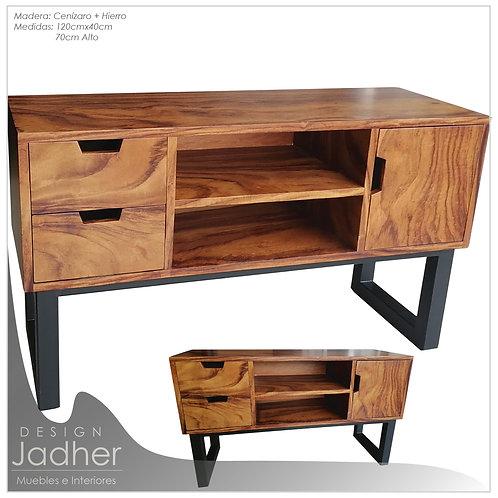 Mueble de Sala y T.V Laurel + Hierro