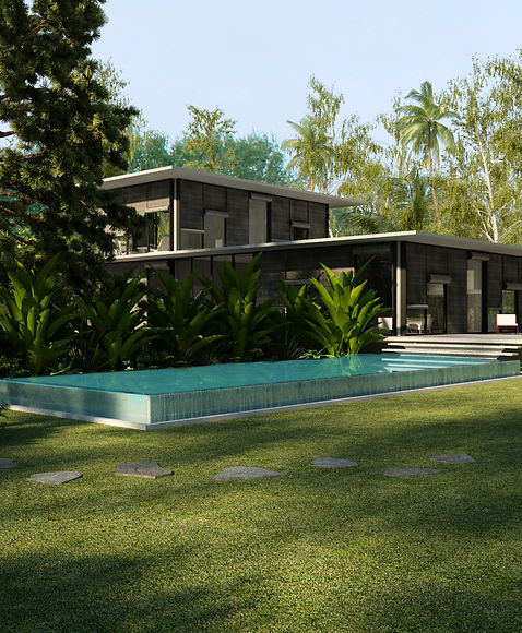 Beach House Landscaping Swimming Pool Interior Design Architecture Gurgaon New Delhi