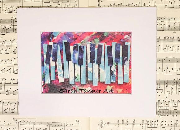 PRINT of PianoKeys-Ellington