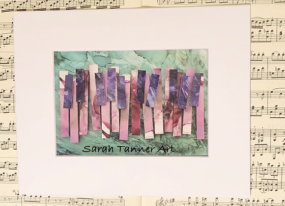 PRINT of PianoKeys-Debussy