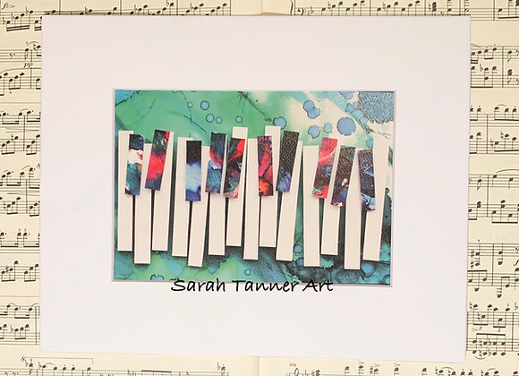 PRINT of PianoKeys-Gershwin