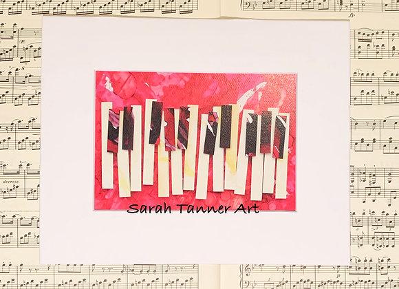 PRINT of PianoKeys-Beethoven