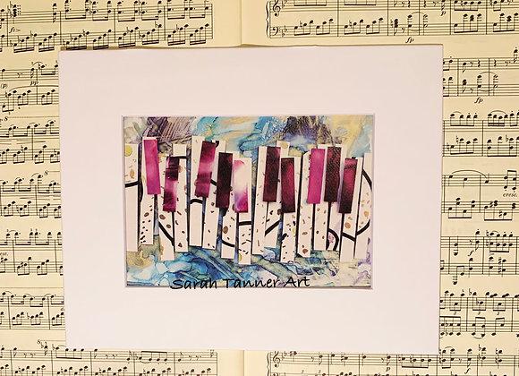 PRINT of PianoKeys- Bartok