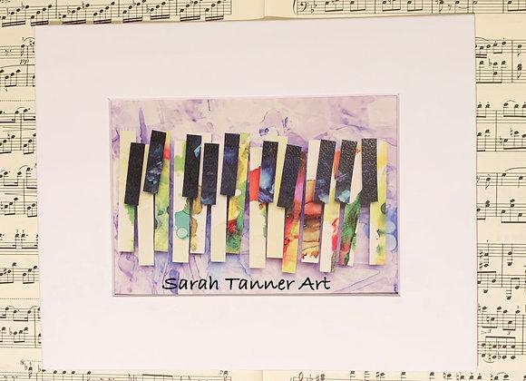 PRINT of PianoKeys-Clara