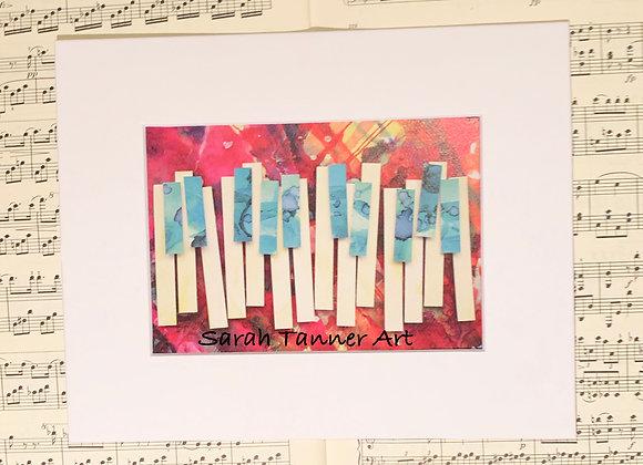 PRINT of PianoKeys-Clementi