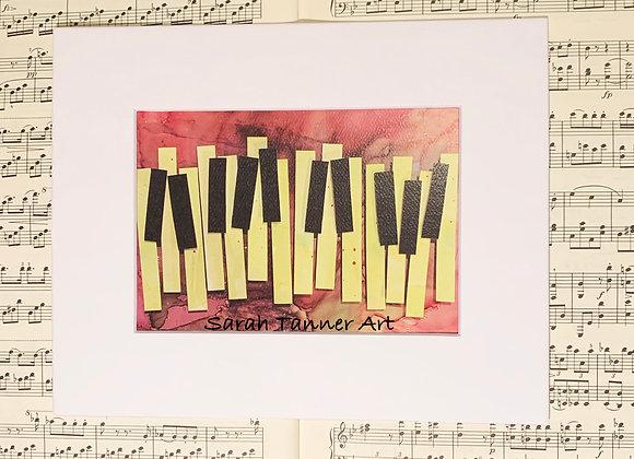 PRINT of PianoKeys-Kabalevsky