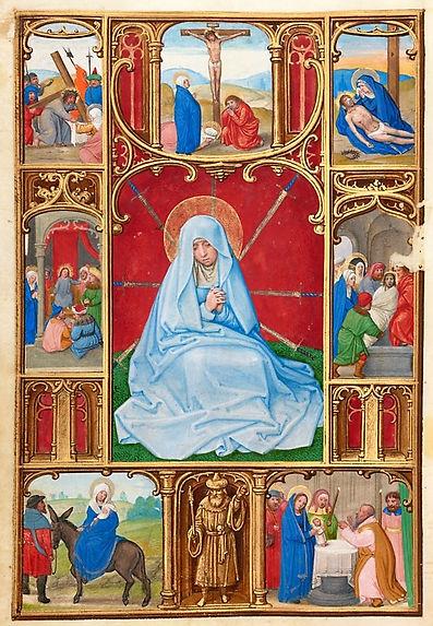 1525_Simon Bening_Seven Sorrows_Prayer B