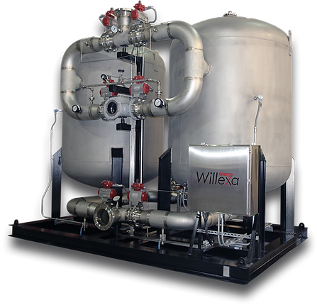 Willexa Energy Regenerative Siloxane Reduction System for the treatment of landfill & digester biogas