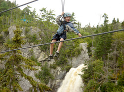 Come for the zip lines