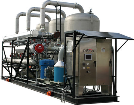 Willexa Energy Siloxane Reduction / Removal System for the treatment of landfill & digester biogas