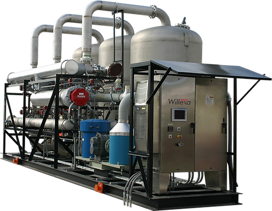 Willexa Energy SRS Siloxane Removal System for Landfill Gas & Digester Gas