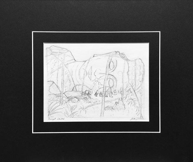 Near Oblivion - Concept Sketch
