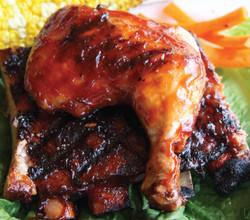 Rib and Chicken Combo