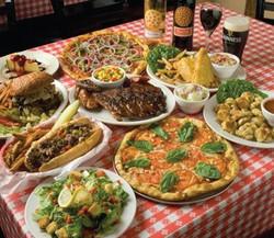 Pizza, BBQ, Wings, Ribs, Burgers