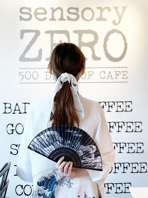 SA Folding Fan 《感味宮匠 -海浪折扇 》