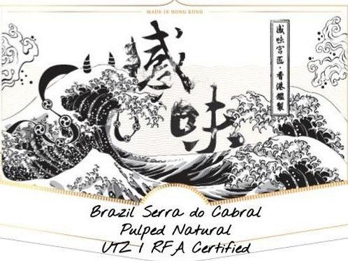Brazil Serra do Cabral Pulped Natural UTZ / RFA Certified (100g)
