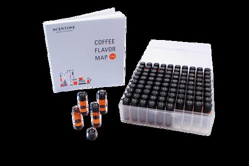 SCENTONE Coffee Flavor Map T100