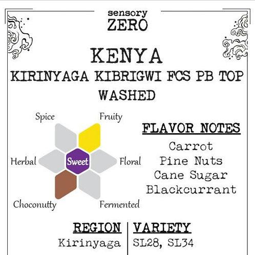 Kenya Kirinyaga Kibrigwi FCS PB Top Washed (100g)